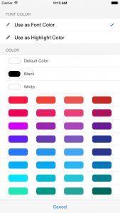 Blog Touch Pro, l'app ottima per scrivere su Word Press 3