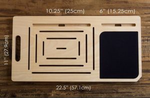 LapPad: una piccola scrivania portatile 5