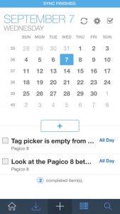Se vuoi organizzarti usa l'app Pagico 3