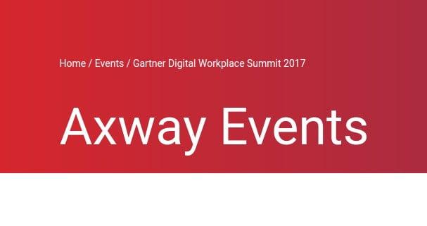 Axway al Gartner Digital Workplace Summit: Siemens AG racconta il progetto di Data Infrastructure Transformation 1