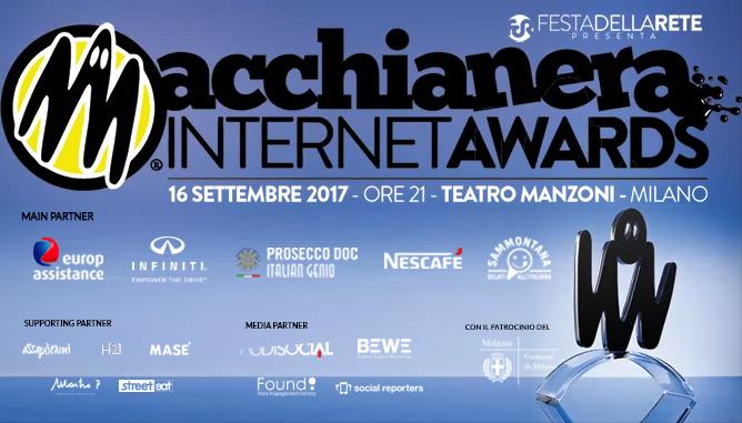 AL TEATRO MANZONI DI MILANO LA DODICESIMA EDIZIONE DEI MACCHIANERA INTERNET AWARDS 1