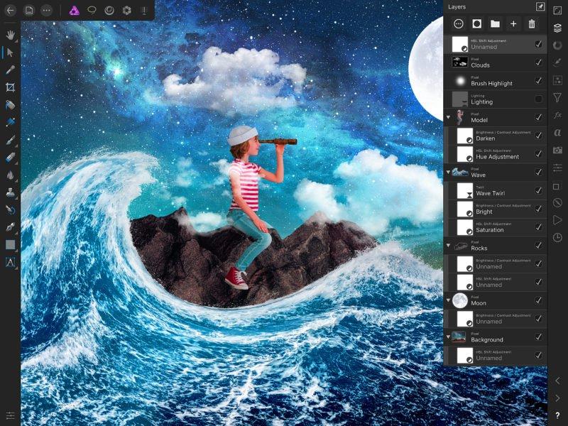 Recensione - Affinity Photo: il concorrente di photoshop arriva anche su iOS 5