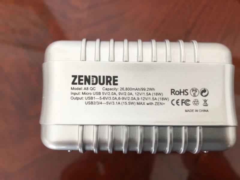 Zendure A8 QC potenza e qualità per caricare i nostri prodotti 5