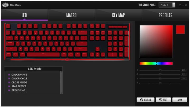Cooler Master MasterKeys MK750, tastiera meccanica RGB con layout in italiano 3