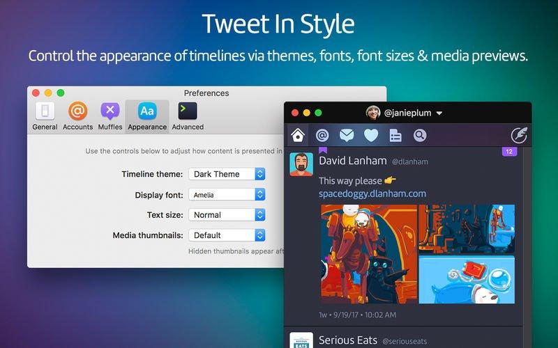 Twitterrific torna su Mac più forte di prima 2