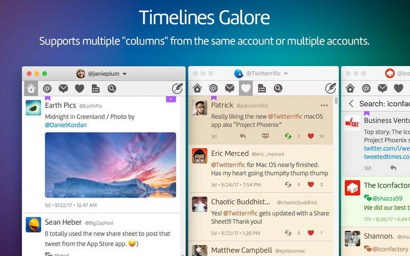 Twitterrific torna su Mac più forte di prima 3