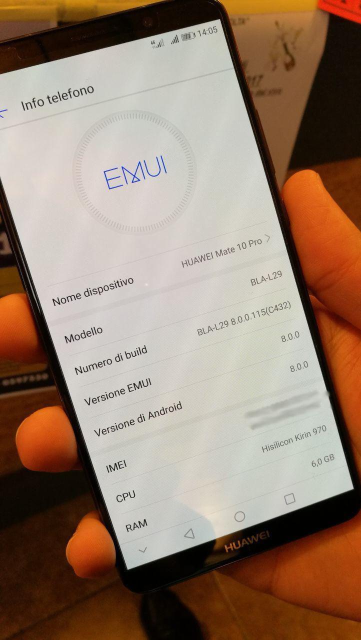 EMUI 8 per Huawei in uscita per Natale? 2