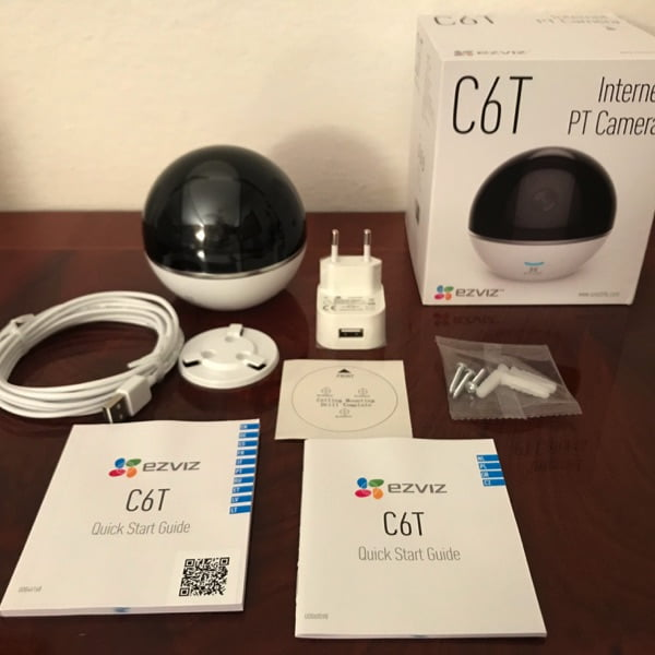 Ezviz C6T la camera di sorveglianza per la casa motorizzata 3