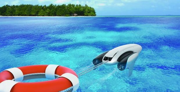 CES 2018: PowerVision presenta PowerDolphin, un esclusivo drone d'acqua 3