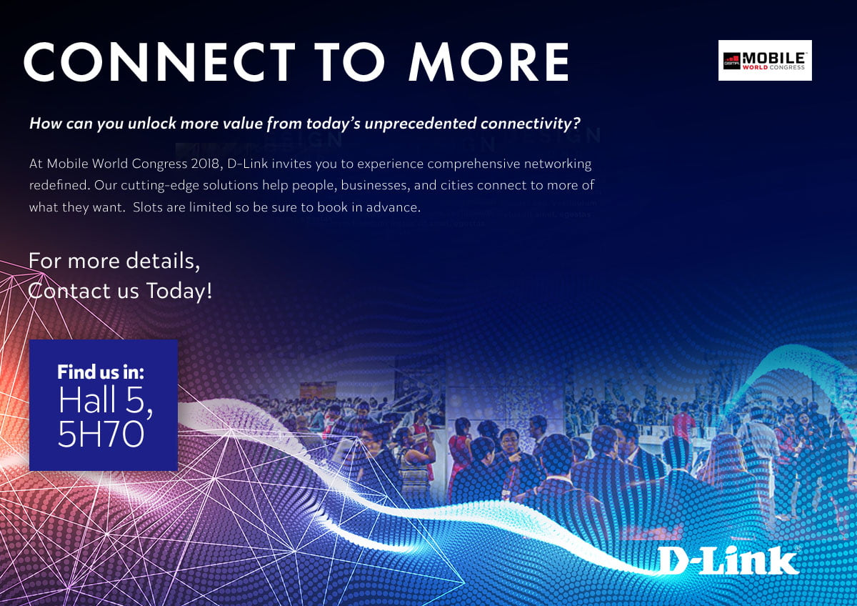 D-Link si prende la scena al Mobile World Congress 2018 2