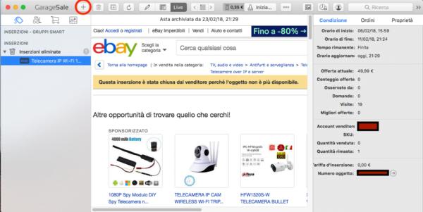 GarageSale: pubblicare inserzioni su eBay con un tocco di stile 2