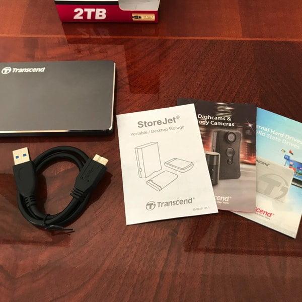 StoreJet 25C3N, l'HDD piccolo ed elegante di Transcend- recensione 2