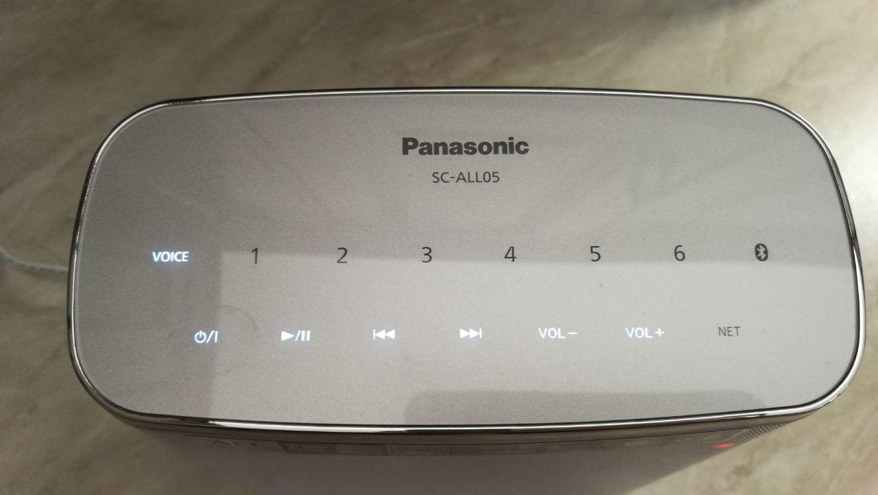Recensione speaker Panasonic SC-ALL05EG-W 4