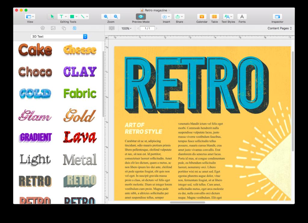 Swift Publisher 5, la famosa app per Mac di desktop publishing 3