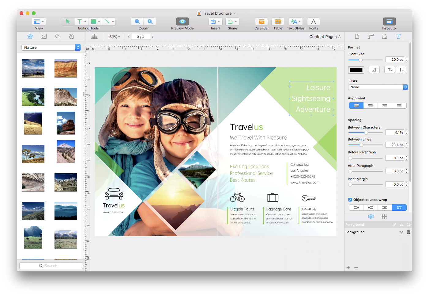 Swift Publisher 5, la famosa app per Mac di desktop publishing 2