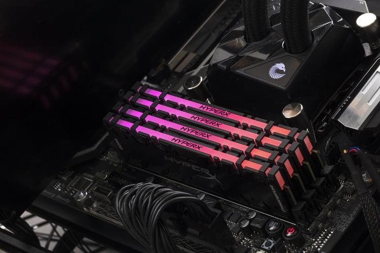 HyperX annuncia la disponibilità delle memorie  HyperX Predator DDR4 RGB con tecnologia Infrared Sync 2