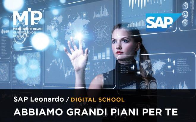 Parte la SAP Leonardo Digital School 1