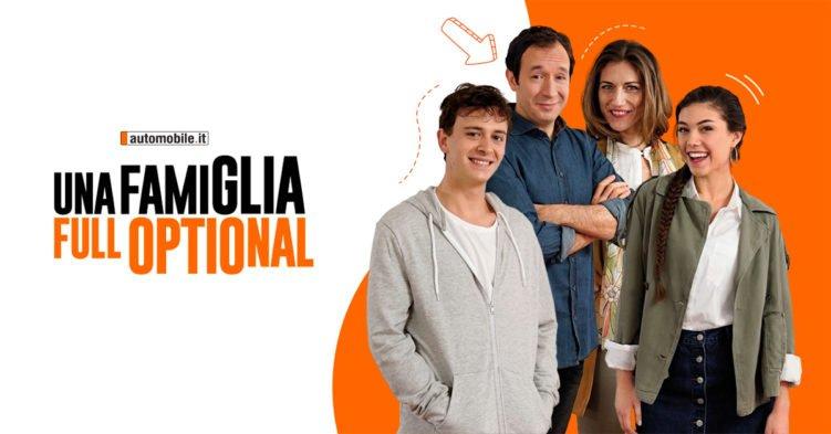 """""""Una famiglia Full Optional"""": la tecnologia nella nuova web series di automobile.it 1"""