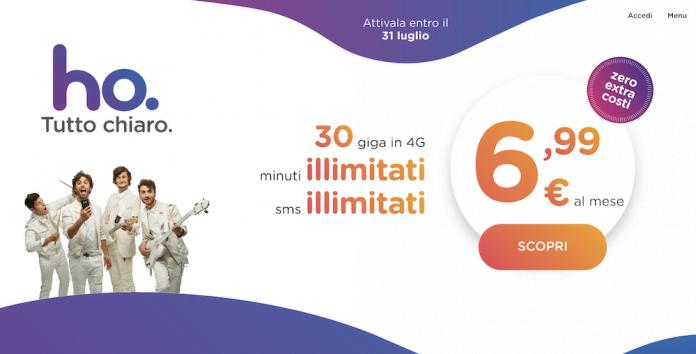 Vodafone lancia HO Mobile, operatore con offerta a 6,99 euro! 1