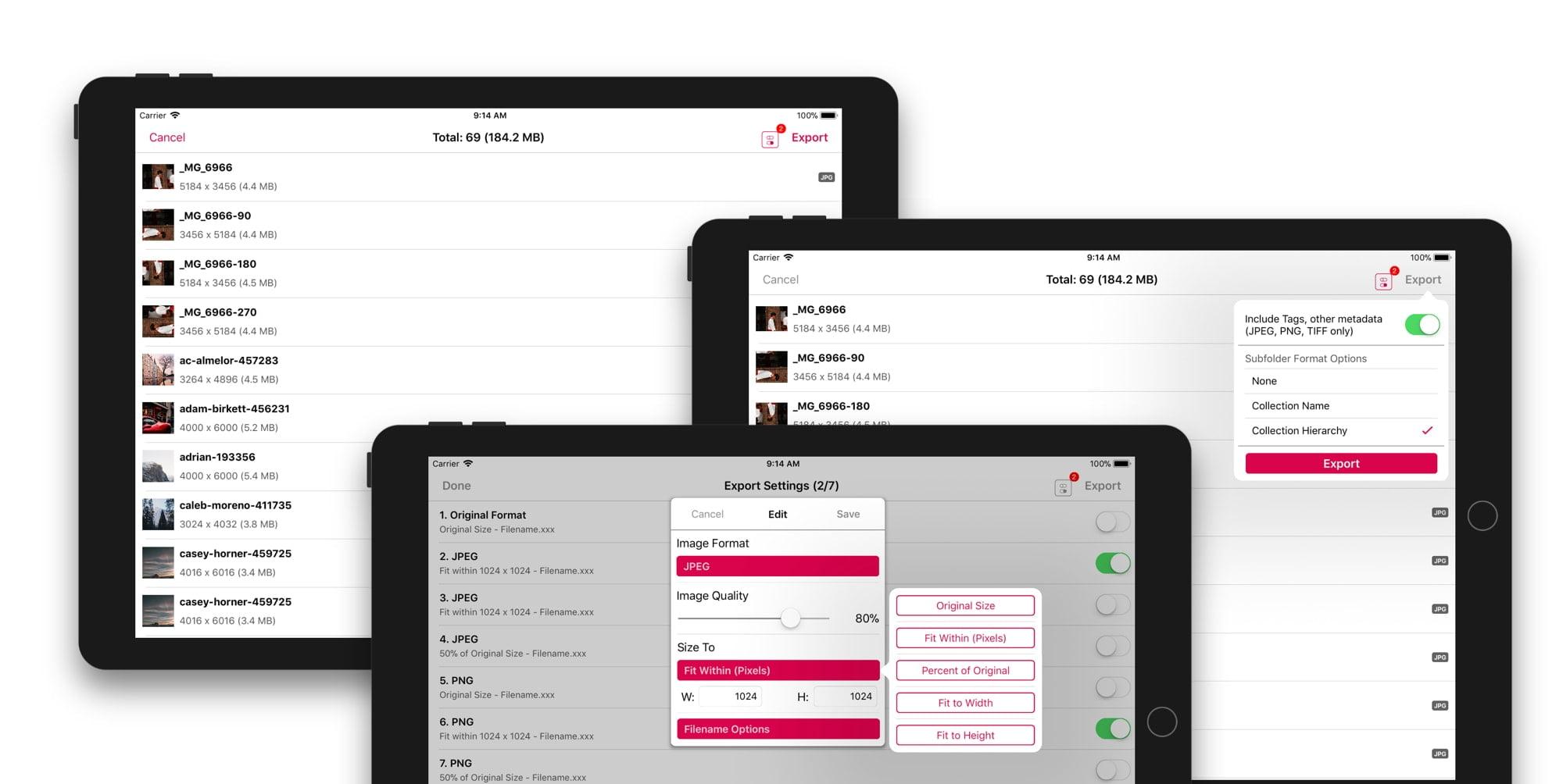 Pixave: gestisci le tue immagini nei tuoi dispositivi iOS 2