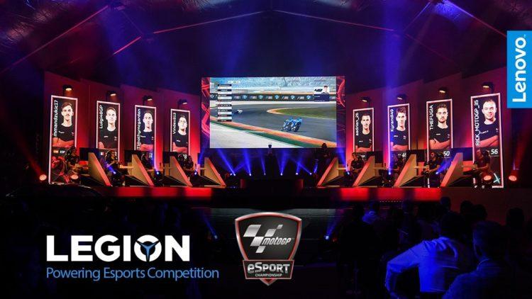 Partnership fra Dorna Sports e Lenovo™ per il campionato eSport di MotoGP™ 1