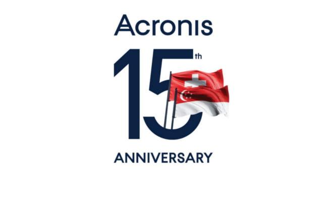 Acronis festeggia il 15 anni e premia i propri partner durante un evento di gala organizzato a Singapore 1