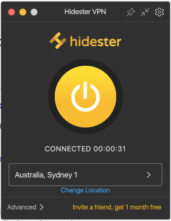 Proviamo Hidester VPN 4