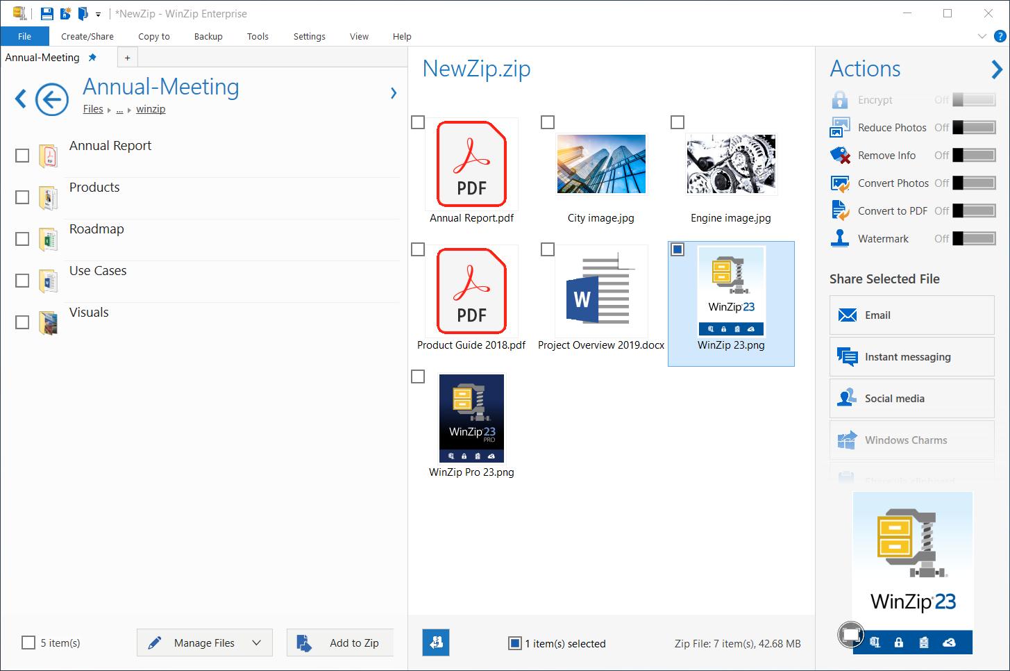 Corel lancia il nuovo WinZip 23 Enterprise 2