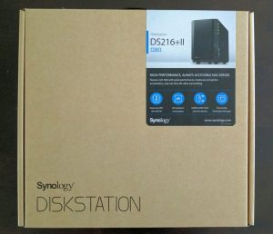 Synology DiskStation DS216 + II 2