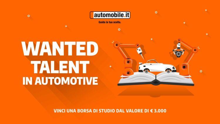 """""""Wanted Talent in Automotive"""": Una borsa di studio per studenti digital 1"""