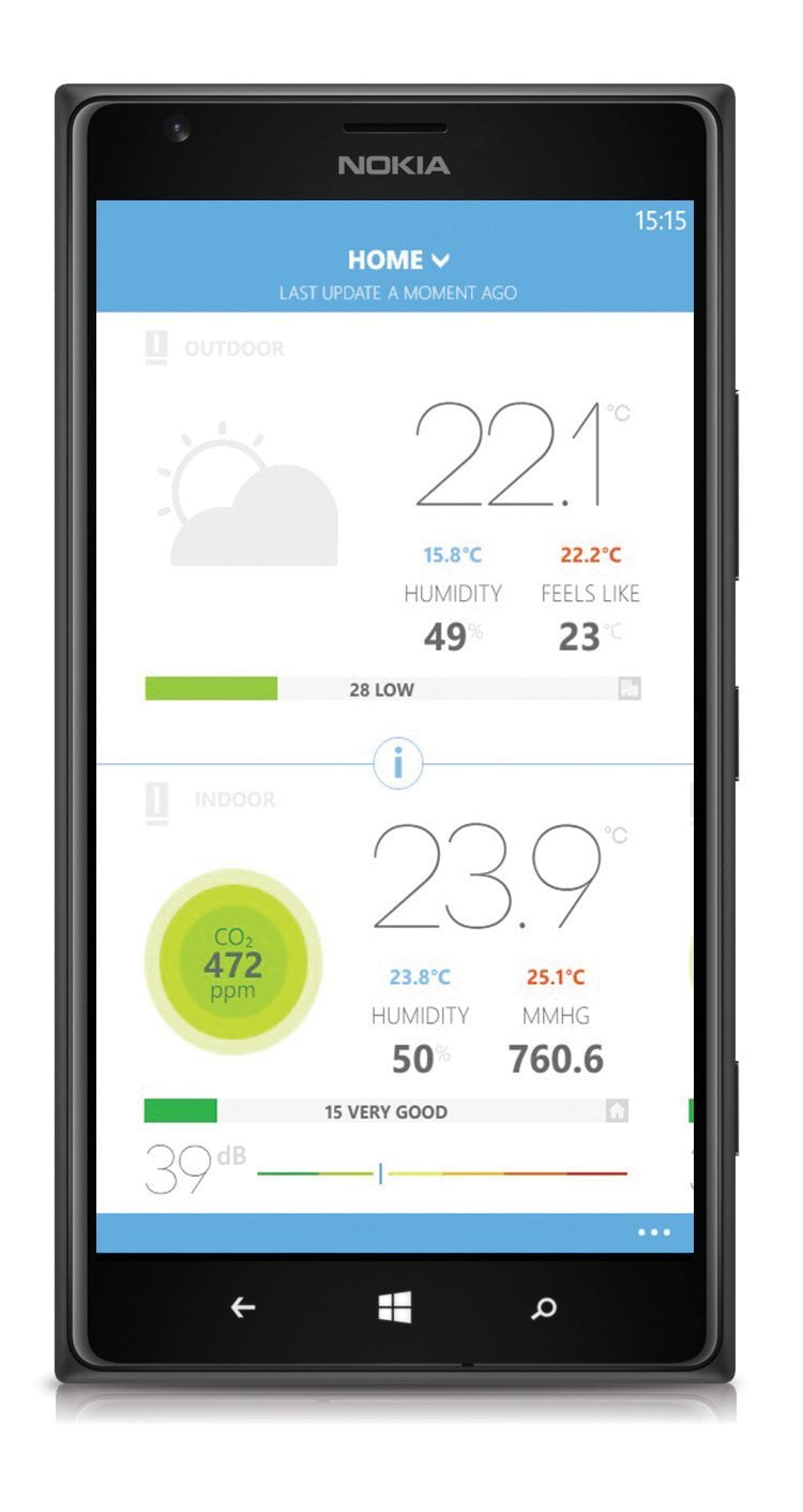 La stazione meteo di Netatmo, anche la temperatura si fa smart 5