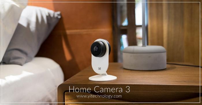Proteggere la tua famiglia è diventato ancora più semplice:  YI Home Camera 3 2