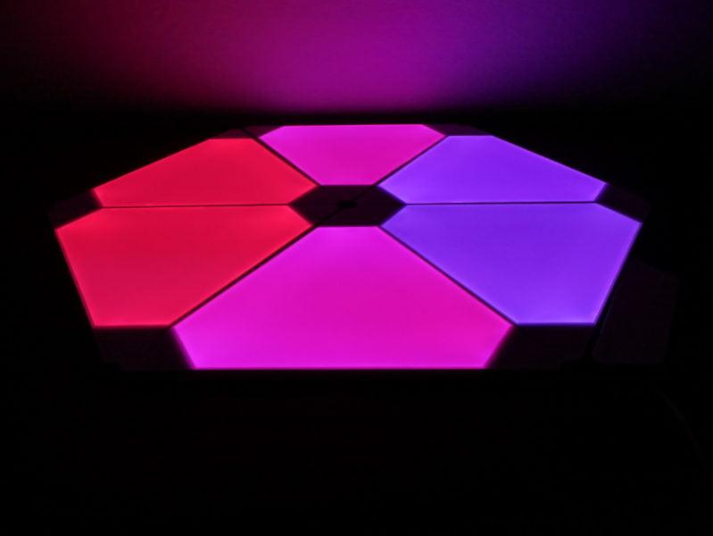 Recensione Nanoleaf Light Panel Rhythm Edition, illuminare la casa con stile 16