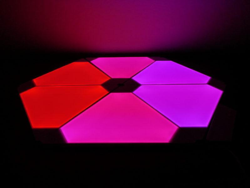 Recensione Nanoleaf Light Panel Rhythm Edition, illuminare la casa con stile 15