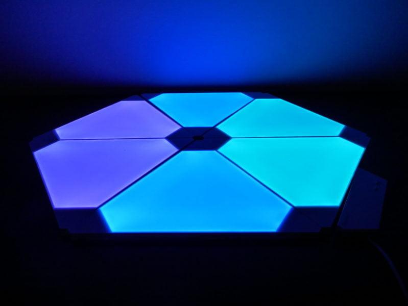 Recensione Nanoleaf Light Panel Rhythm Edition, illuminare la casa con stile 14