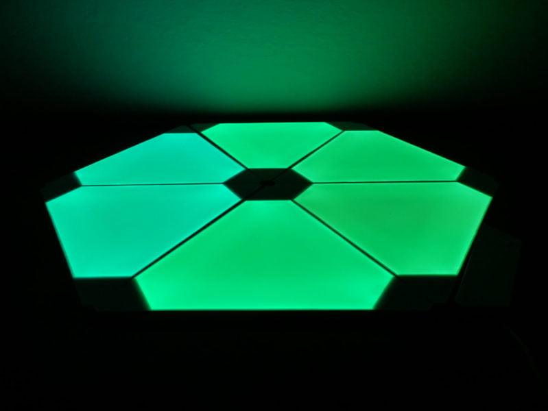 Recensione Nanoleaf Light Panel Rhythm Edition, illuminare la casa con stile 13