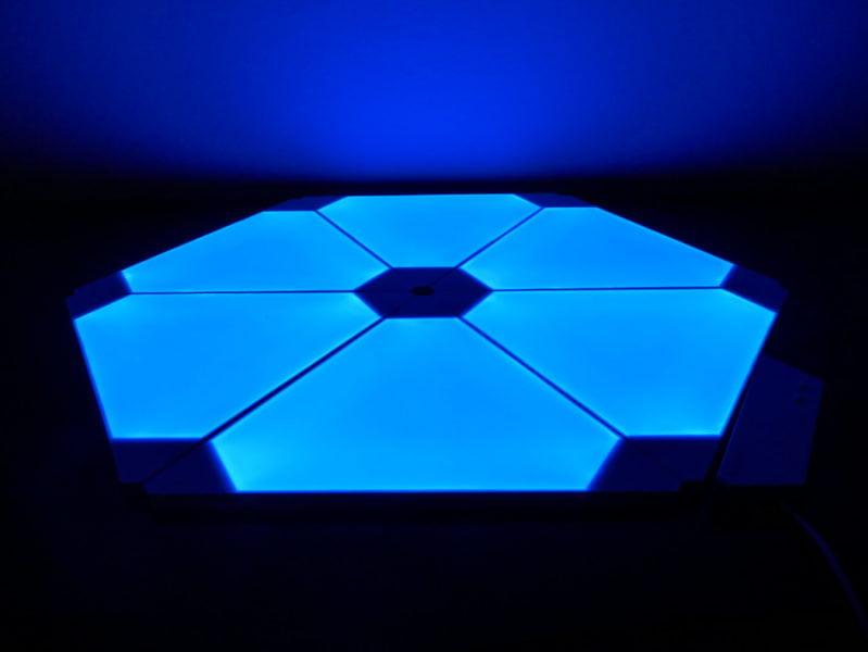 Recensione Nanoleaf Light Panel Rhythm Edition, illuminare la casa con stile 11