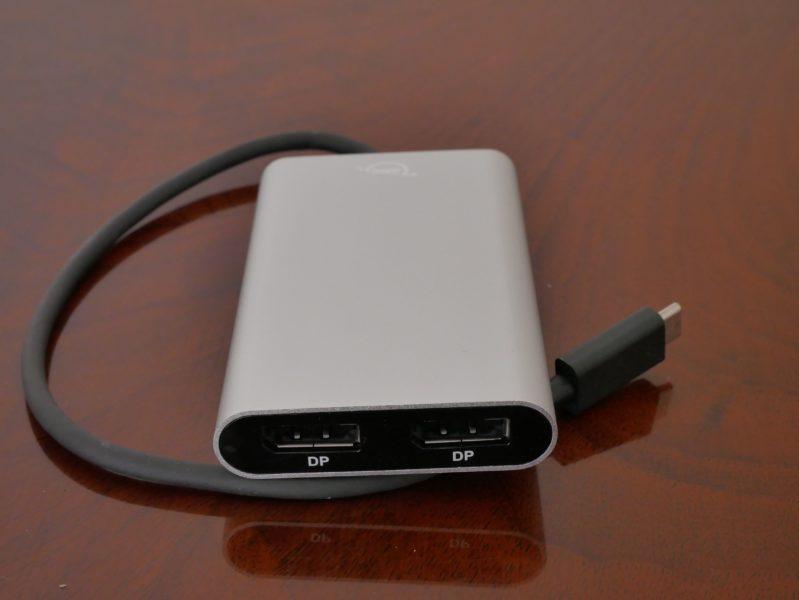 Recensione OWC USB-C Travel Dock e Thunderbolt 3 Dual DisplayPort 6