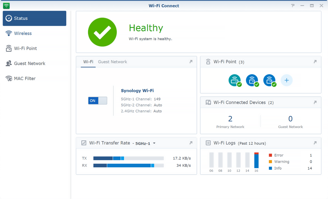 Recensione Synology router MR2200ac 8