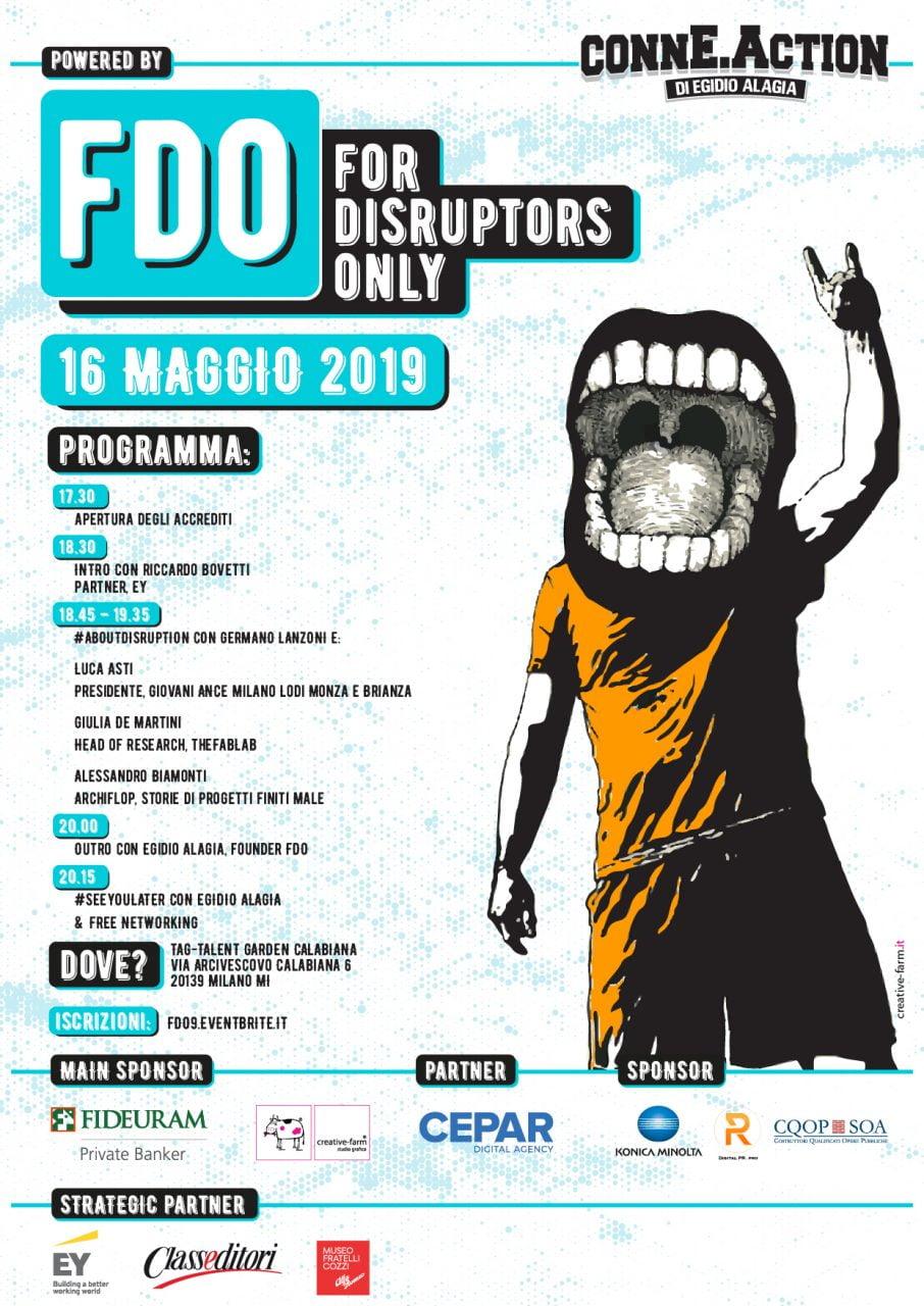 Torna For Disruptors Only, un ciclo di eventi dove imprenditori e manager si raccontano 2