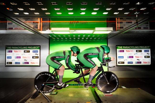 Ciclismo paralimpico: studio dell'aerodinamica per il miglioramento delle performance 1