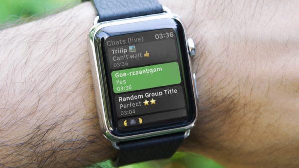 WatchChat: l'app che porta WhatsApp su Apple Watch 1