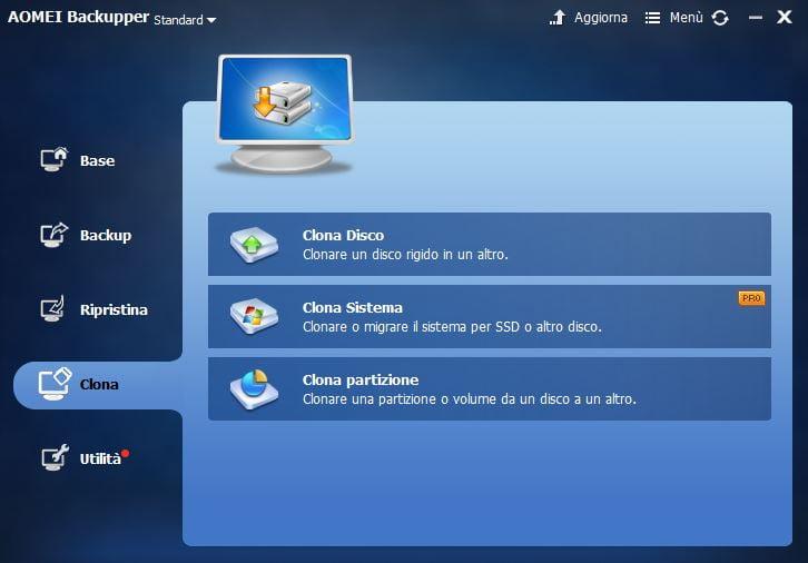 Salva i tuoi dati in modo sicuro: AOMEI Backupper Standard 6