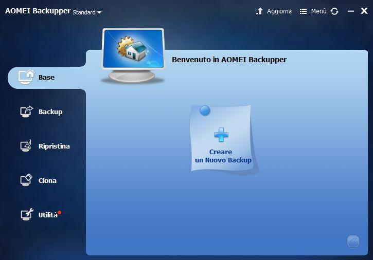 Salva i tuoi dati in modo sicuro: AOMEI Backupper Standard 3
