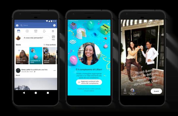 Gli auguri su Facebook diventano Storie 5 consigli per lasciare il segno con le Storie di compleanno 1