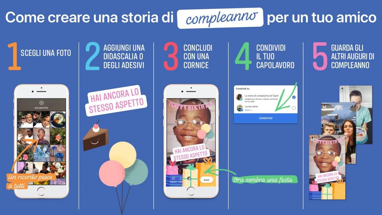 Gli auguri su Facebook diventano Storie 5 consigli per lasciare il segno con le Storie di compleanno 2