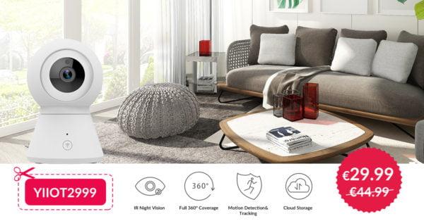 YI Smart IP Camera da 360° in offerta su Amazon 1