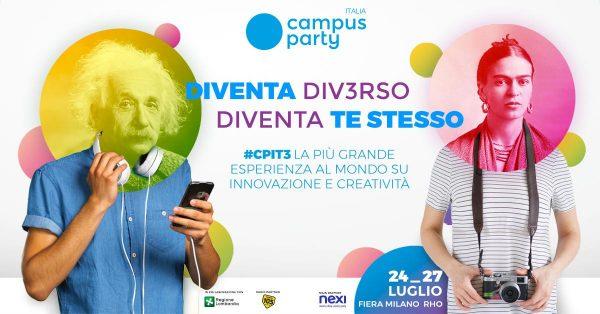 CAMPUS PARTY: A MILANO LA PIÙ ALTA CONCENTRAZIONE DI TALENTI PER METRO QUADRO D'ITALIA 1
