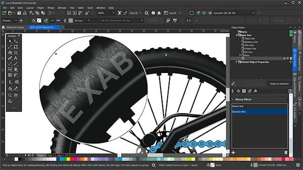 CorelDRAW Technical Suite 2019 offre precisione e controllo per l'illustrazione tecnica 1