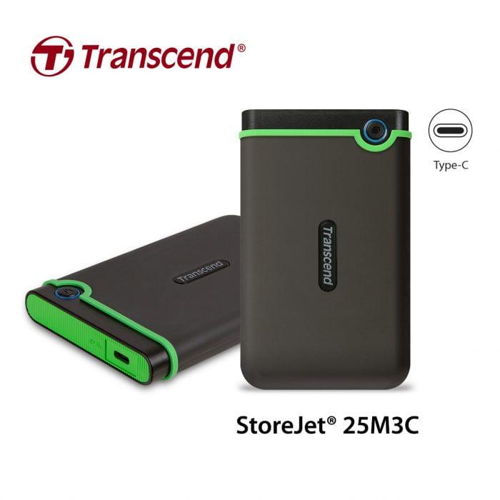 Transcend Lancia un Nuovo Hard Disk Portatile con Type-C, Ampliando il suo Stellare USB Type-C Line-up 2